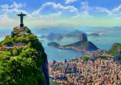Rio De Janeiro, Brazil South America Jigsaw Puzzle