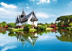 Prasat Palace / Palais Royal, Bangkok Landscape Jigsaw Puzzle