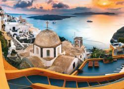 Fairytale Santorini Greece Jigsaw Puzzle