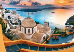 Fairytale Santorini Greece Jigsaw Puzzle