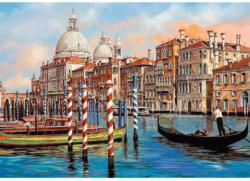 The Afternoon In Venice - Canal Grande Italy Jigsaw Puzzle