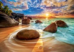 Samudra Beach, India Beach Jigsaw Puzzle