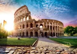 Coloseum at Dawn / Colisée à l'aube Europe Jigsaw Puzzle
