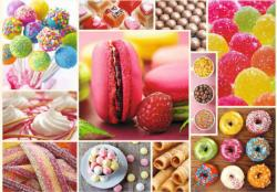Candy - Collage Sweets Jigsaw Puzzle