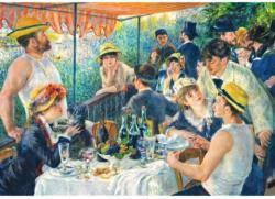 Luncheon Of The Boating Party Fine Art Jigsaw Puzzle