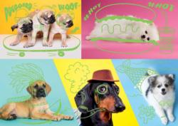Far Out Dogs Dogs Jigsaw Puzzle