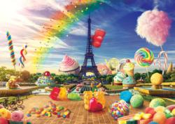 Sweet Paris Sweets Jigsaw Puzzle
