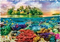 Tropical Island Under The Sea Impossible Puzzle