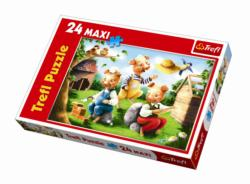 Three Little Pigs Movies / Books / TV Children's Puzzles