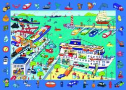 Pz 70: Observation Port Seascape / Coastal Living Children's Puzzles