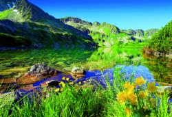 Wielki Staw Lake, the Tatras Photography Jigsaw Puzzle