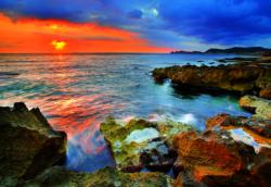 The Spanish Coast Sunrise/Sunset Jigsaw Puzzle