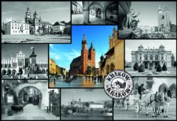 Montage, Cracow Photography Jigsaw Puzzle
