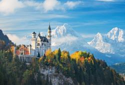 Neuschwanstein Castle / Château Landmarks / Monuments Jigsaw Puzzle