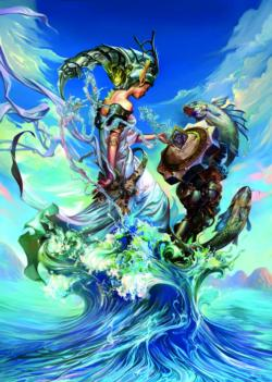 The Queen of the Sea Fish Jigsaw Puzzle
