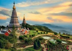 Fairytales Chiang Mai / Contes et légendes du Chiang Mai Landscape Jigsaw Puzzle