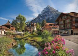 Alps In The Summer Summer Jigsaw Puzzle