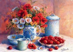 Sweet Afternoon Food and Drink Jigsaw Puzzle