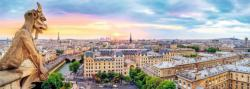 View From The Cathedral Of Notre-Dame De Paris Paris Panoramic Puzzle