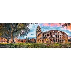 Colosseum At Dawn Sunrise / Sunset Panoramic Puzzle