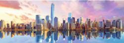 Manhattan New York Panoramic Puzzle