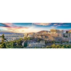 Acropolis, Athens Greece Panoramic Puzzle