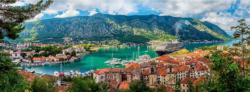 Kotor, Montenegro Europe Panoramic Puzzle
