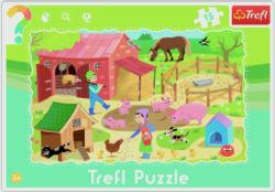 Farm Farm Animals Frame Puzzle