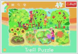 Garden Farm Frame Puzzle