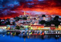 Vrsar Istria, Croatia Sunrise/Sunset Jigsaw Puzzle
