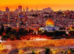 The Roofs of Jerusalem Skyline / Cityscape Jigsaw Puzzle