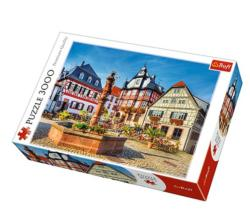 Market Square, Heppenheim, Germany Germany Jigsaw Puzzle