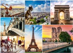 Magic of Paris / La magie de Paris Europe Jigsaw Puzzle