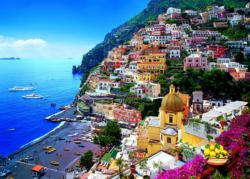 Positano, Italy Seascape / Coastal Living Jigsaw Puzzle