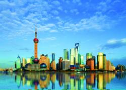Shanghai, China Asia Jigsaw Puzzle