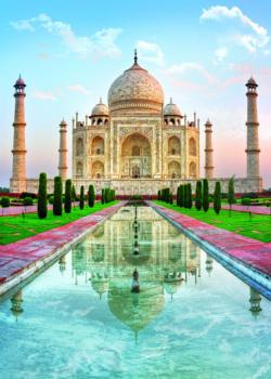 Taj Mahal, India Photography Jigsaw Puzzle