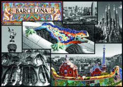 Barcelona Collage Jigsaw Puzzle