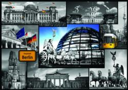 Montage, Berlin Collage Jigsaw Puzzle