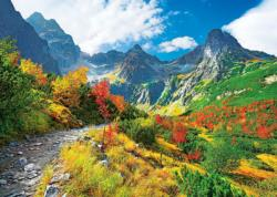 Autumn Tatras, Poland Mountains Jigsaw Puzzle