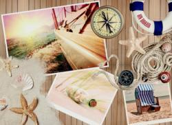 Welcome On Board Seascape / Coastal Living Jigsaw Puzzle