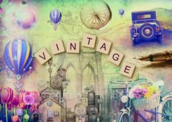 Vintage Collage Jigsaw Puzzle