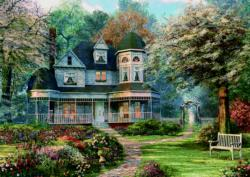 House Of Dreams Flowers Jigsaw Puzzle