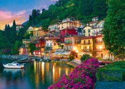 Como Lake, Italy / Lac Como, Italie Lakes / Rivers / Streams Jigsaw Puzzle