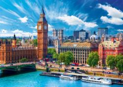 Sunny Day In London London Jigsaw Puzzle