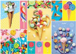 Lollies, Candies, Ice Cream Sweets Jigsaw Puzzle