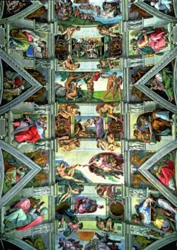 Sistine Chapel Fine Art High Difficulty Puzzle