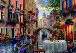 Romantic Supper Italy Jigsaw Puzzle