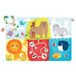 Suuuper Size Animal Match Animals Children's Puzzles
