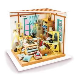Sewing Room Domestic Scene Jigsaw Puzzle