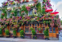London Pub M London Double Sided Puzzle